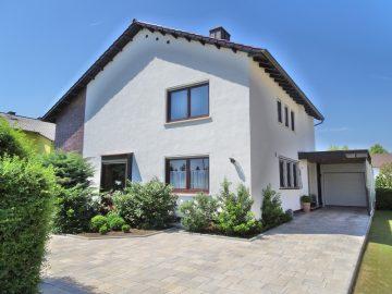 Der Eingang zum Wohnparadies: EFH – toller Garten – Garage – gehobene Ausstattung – Leiselheim! 67549 Worms, Einfamilienhaus