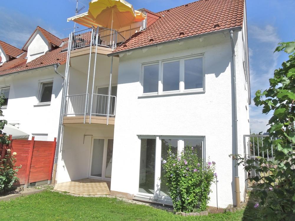 Einmal alles, bitte: Maisonette. Panoramablick. Terrasse. Loggia. Garten. Einzelgarage. Hochheim., 67549 Worms, Maisonettewohnung