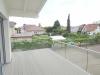 Das Besondere hat eine Adresse! Moderne 2,5-Zimmer-Wohnung mit Mega-Terrasse! Erstbezug! - Balkon