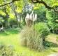 Architektonisches Einzelstück: 50/60er-Jahre Walmdachvilla mit Südgrundstück – beste Westendlage! - Garten