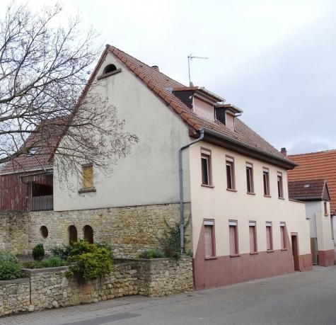 Für alle, die noch etwas vorhaben: Gebäudeensemble mit Hof, Garten, Garage, Werkstatt, Lager!, 67278 Bockenheim an der Weinstraße, Zweifamilienhaus