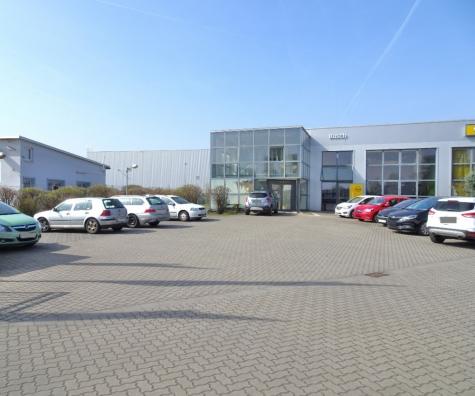 Gewerbeanwesen in Worms! Derzeit Autohaus und Verlagshaus., 67547 Worms, Halle