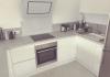 Das Besondere hat eine Adresse! Moderne 2,5-Zimmer-Wohnung mit Mega-Terrasse! - Küche