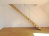 Urbaner Lifestyle: Exklusive DG-Maisonette mit Balkon, EBK, Garage u. Lift in Zentrumslage! - Treppe zum Studio