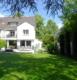 Werte fürs Leben: Exponierte Westendlage - ästhetische Architektur - luxuriöse Ausstattung! - Gartenseite