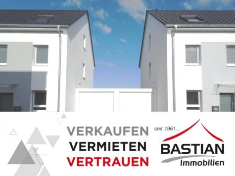 Neues entdecken: Erstbezug – DHH (Eckhaus) – 2 Bäder – Terrasse – Garage – Feldrandlage – Osthofen!, 67574 Osthofen, Reihenendhaus