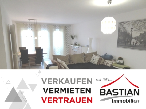 Ein attraktives Gesamtpaket: 2 Zimmer – 70 m² – Balkon – Garage – gute Lage in Herrnsheim!, 67550 Worms / Herrnsheim, Etagenwohnung