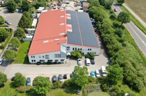 Anschluss gesucht? Nur 3 Minuten zur A 61: Moderner Gewerbekomplex in Mörstadt!, 67550 Worms, Halle